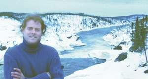 Photo: Éric Gagnon at Rupert River diversion point